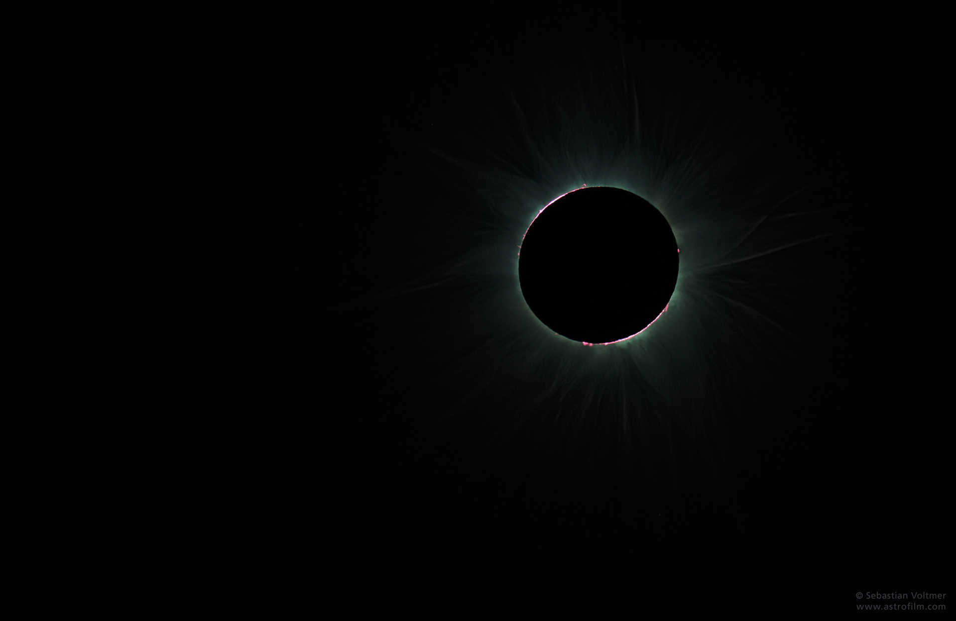 Solar Eclipse - Moment of Totality, 2012