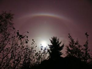 Halo Effect around the Moon, Spicheren, France