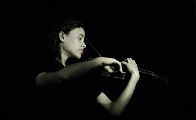 Lea with Violin