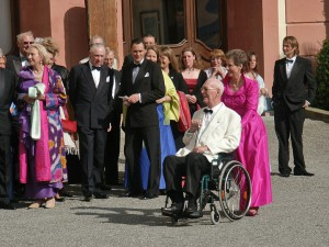 Graf Lennart Bernadotte, der Herr von Mainau wird 90.