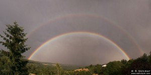 Double rainbow, July 3, 2004