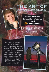 Astrophoto Workshop @ Photokina 2010